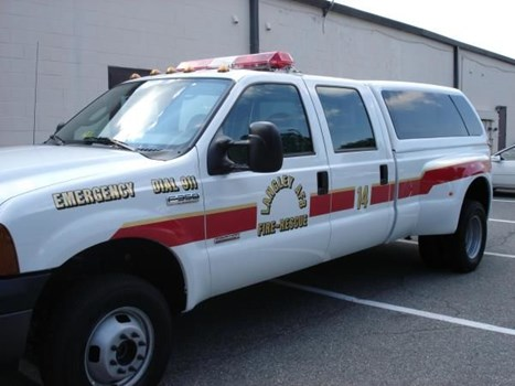 EVR009 - Custom Emergency Vehicle Reflective Striping & Chevron for Government